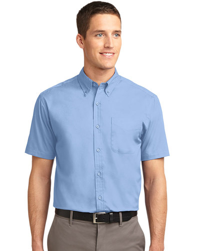 Port Authority Embroidered Men's Tall Short Sleeve Easy Care Shirt