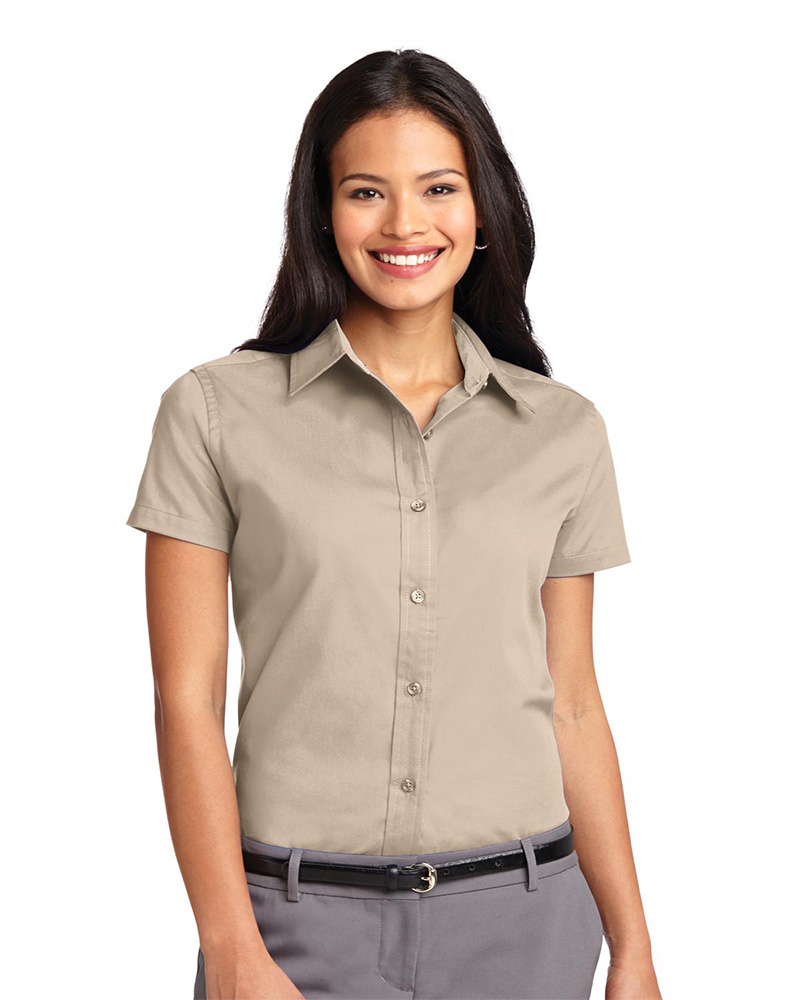 Port Authority Embroidered Women's Easy Care Short Sleeve Shirt