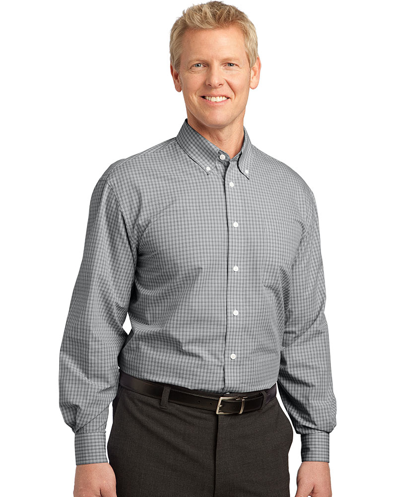 Port Authority Plaid Easy Care Shirt