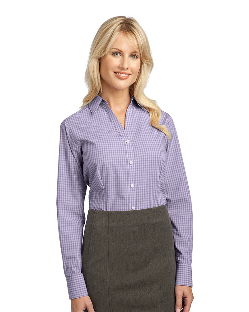 Port Authority Ladies Plaid Easy Care Shirt