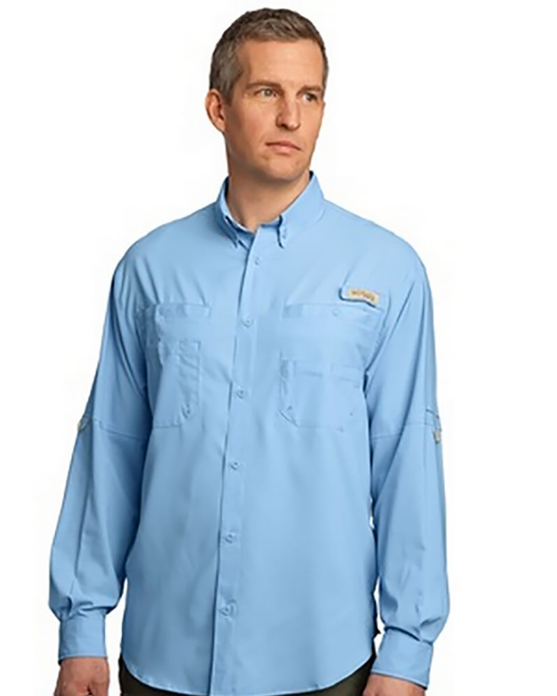 Embroidered columbia tamiami ii fishing shirt queensboro for Embroidered columbia fishing shirts