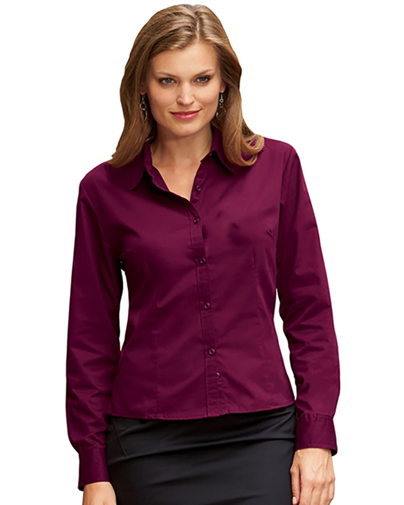 3976 - Women's Ultra Club Easy Care Fine Twill Shirt