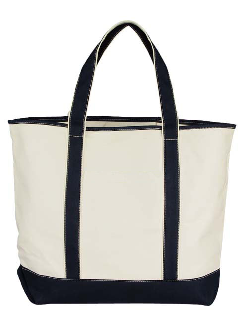 Deluxe Cotton Canvas Tote Bag