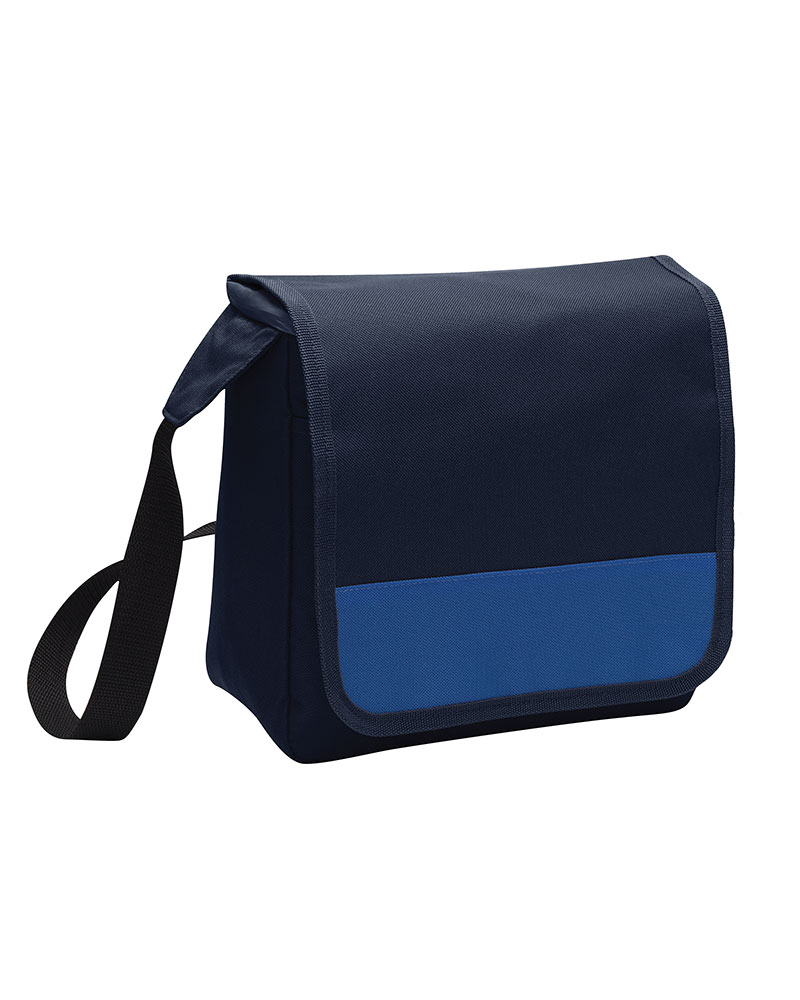 Port Authority Embroidered Lunch Cooler Messenger