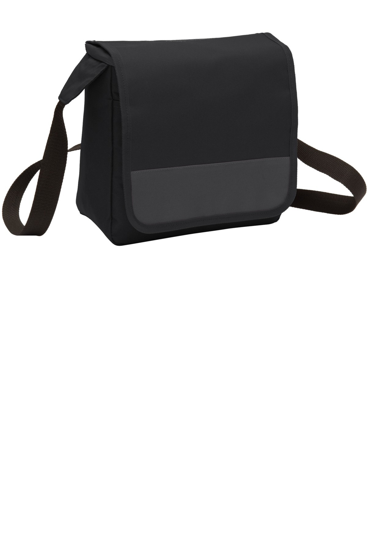 port authority embroidered lunch cooler messenger bags