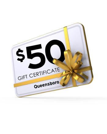 $50 Queensboro Gift Certificate