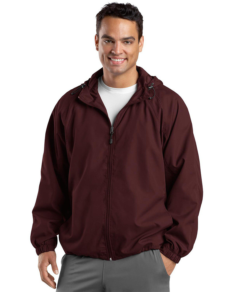 Sport-Tek Hooded Weather Resistant Jacket