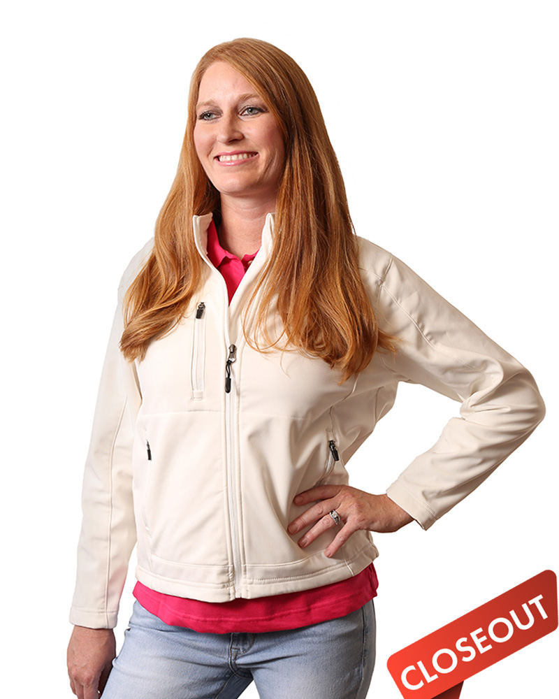 Queensboro LIFT  Embroidered Women's Soft Shell Jacket