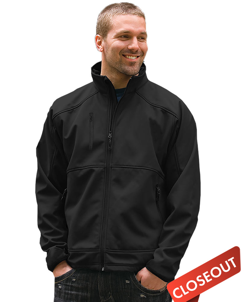 Queensboro LIFT  Men's Embroidered Soft Shell Jacket