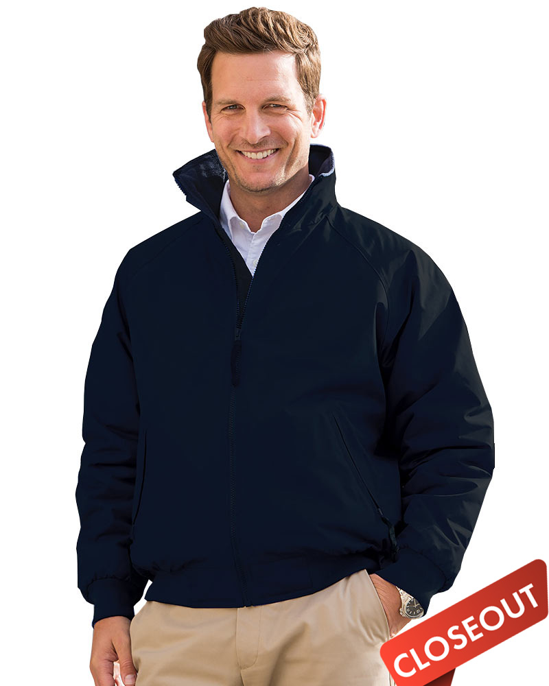 Queensboro  Embroidered Men's BOROUGH Fleece Lined 3 Season Jacket