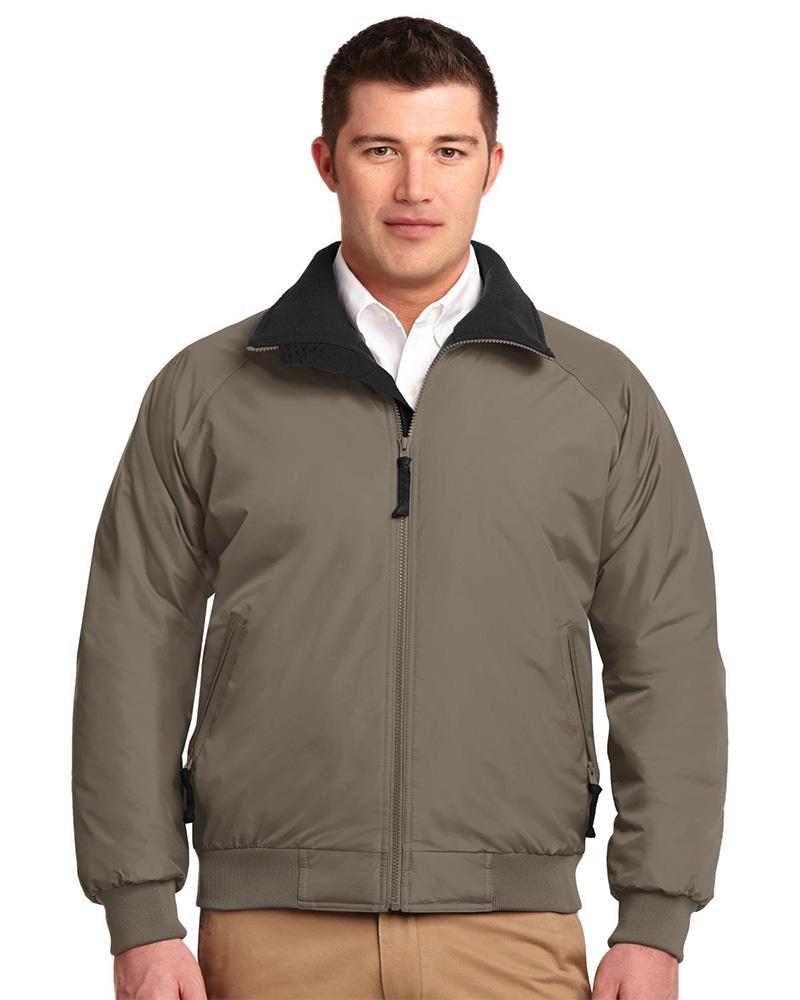 Port Authority  Embroidered Men's Fleece Lined 3 Season Zip Jacket