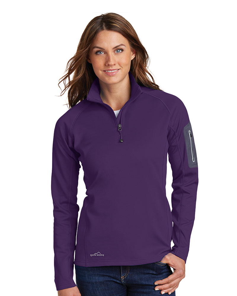 Eddie Bauer Ladies 1/2-Zip Performance Fleece Jacket