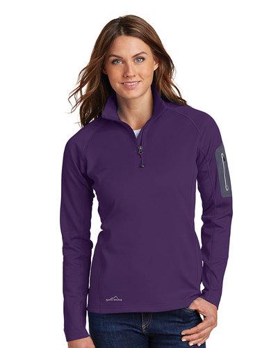 Eddie Bauer  Embroidered Women's 1/2-Zip Performance Fleece Jacket