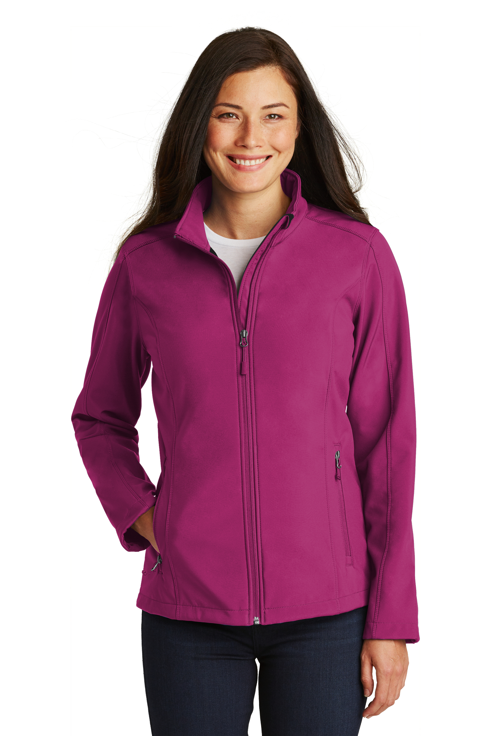 Port Authority  Embroidered Women's Core Soft Shell Jacket
