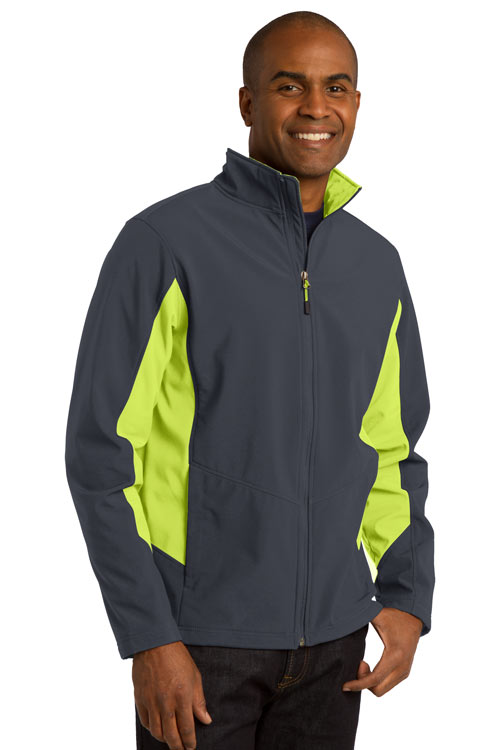 Port Authority  Embroidered Men's Core Colorblock Soft Shell Jacket