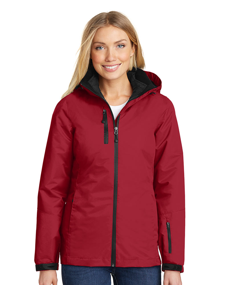 Port Authority  Embroidered Women's Vortex Waterproof 3-in-1 Jacket