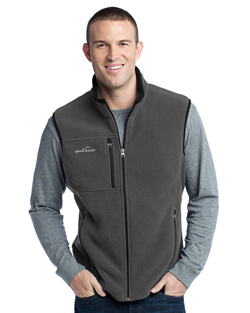 Eddie Bauer Embroidered Men's Fleece Vests