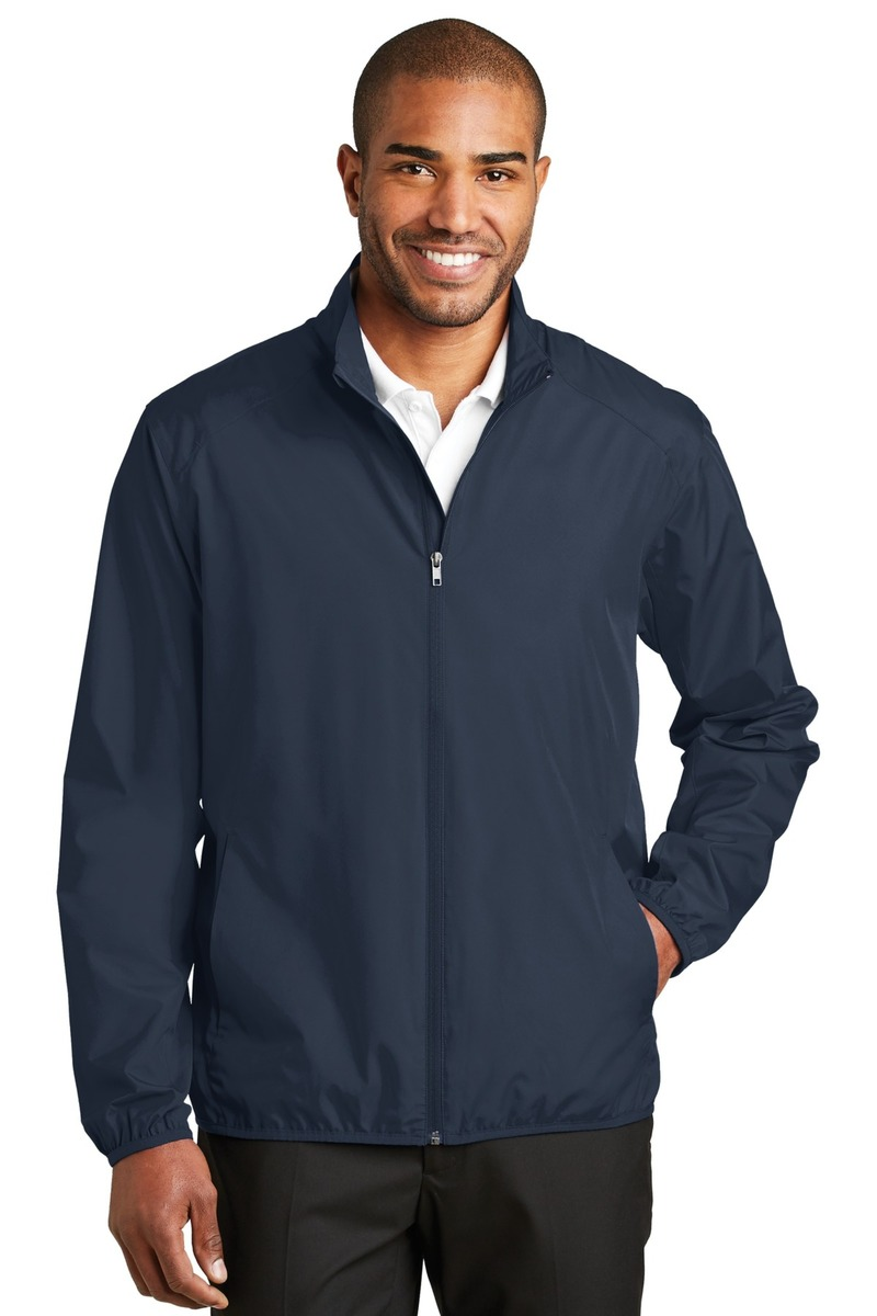 Port Authority  Embroidered Men's Zephyr Full-Zip Jacket