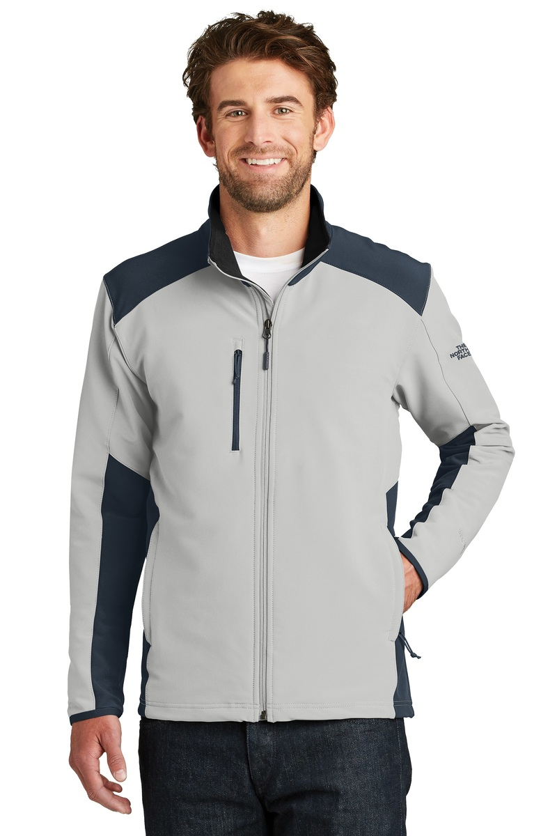 The North Face  Embroidered Men's Tech Stretch Soft Shell Jacket