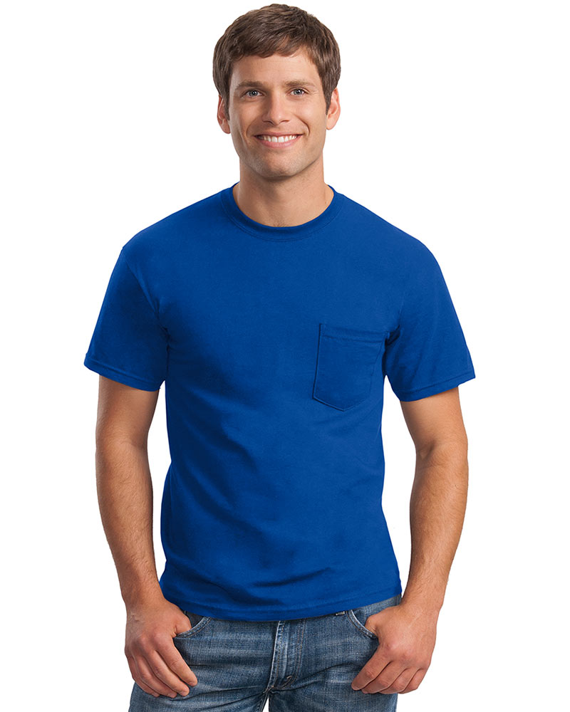 Gildan Printed Men's Classic Pocket Tee