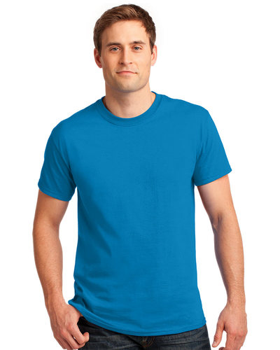 Printed Gildan Ultra Cotton Tee - Up to 5 Color Logo