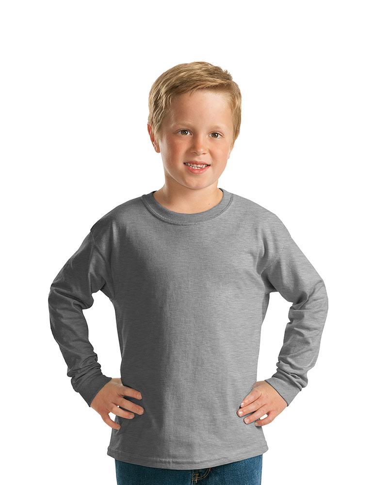 Gildan Youth Ultra Cotton Long Sleeve Tee