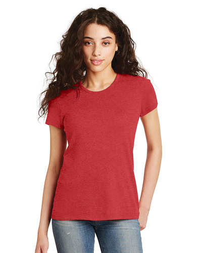 Alternative Embroidered Women's Heirloom Crew T-Shirt