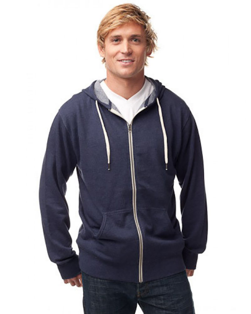 Independent Trading Unisex French Terry Full Zip Hoodie