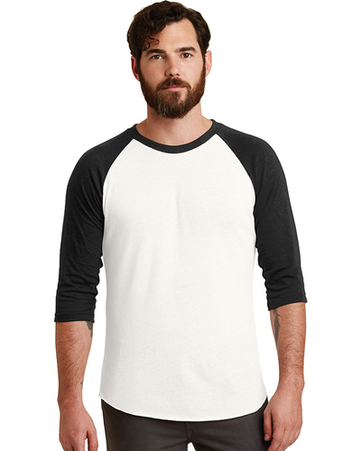 Alternative Embroidered Men's Eco-Jersey Baseball T-Shirt