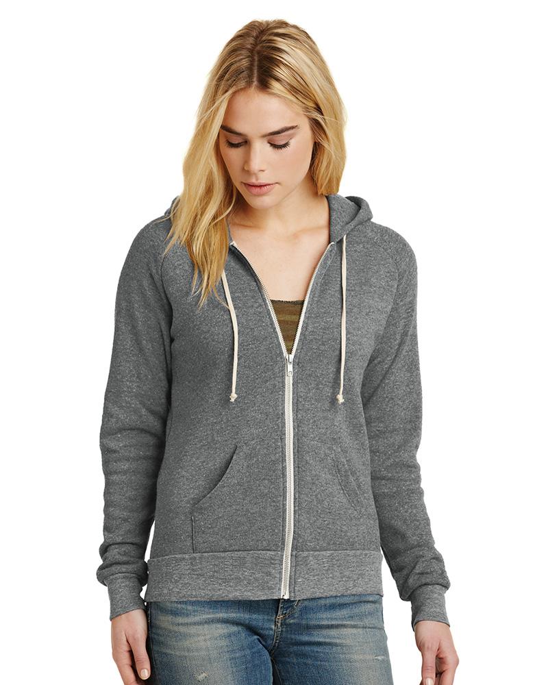 b3c6a92b Alternative Printed Men's Rocky Eco-Fleece Zip Hoodie | Sweatshirts ...