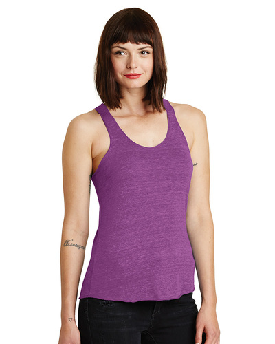 Alternative Embroidered Women's Meegs Eco-Jersey Racer Tank