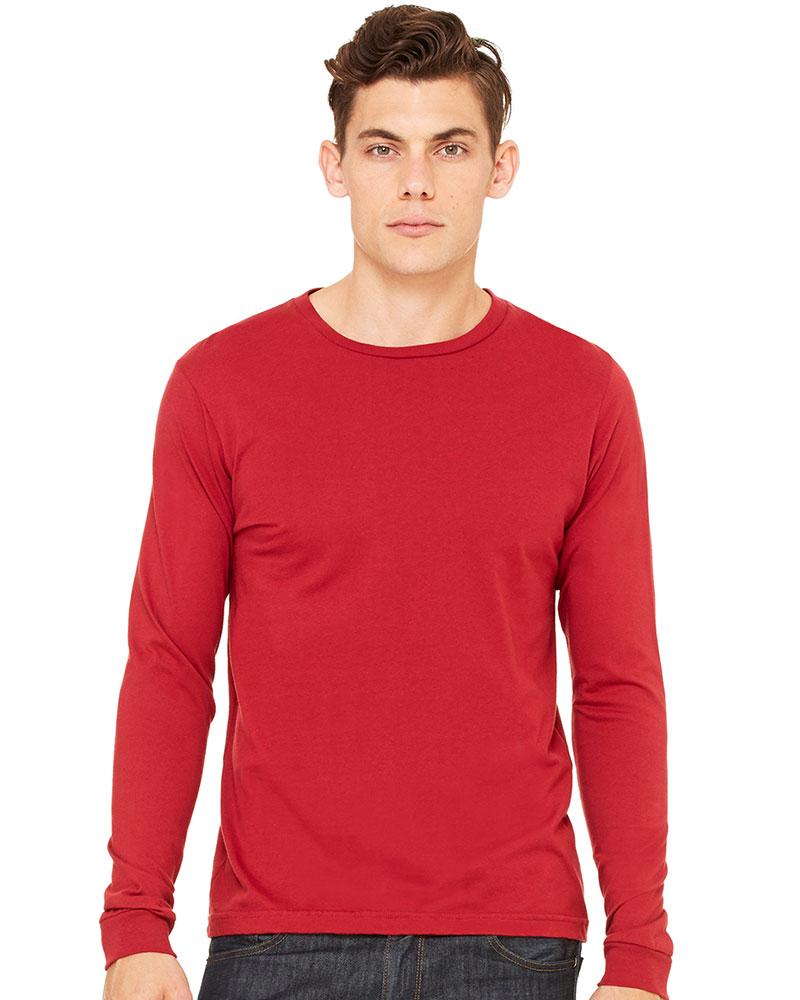 Bella & Canvas Men's Jersey Long-Sleeve T-Shirt