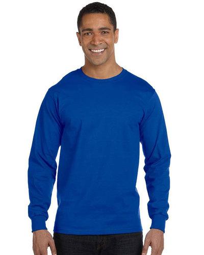 Gildan Embroidered Men's DryBlend 5.6 oz., 50/50 Long-Sleeve T-Shirt
