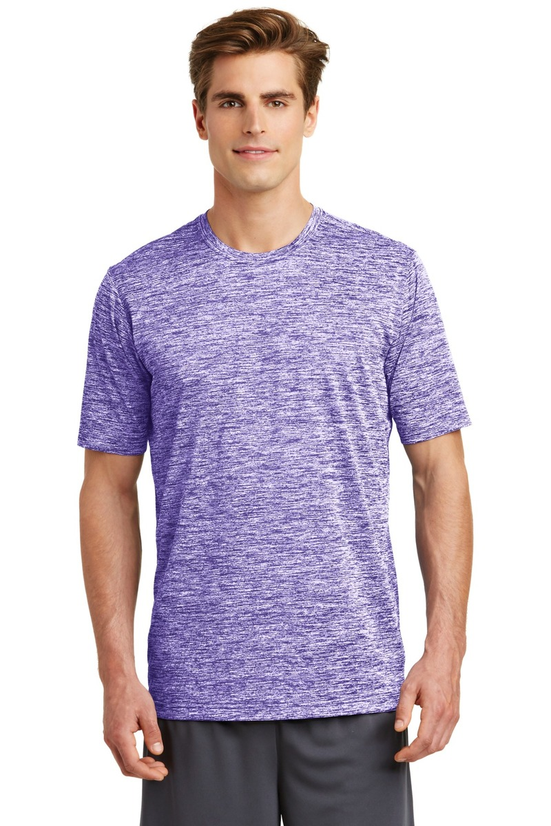 Printed Sport-Tek PosiCharge Electric Heather Tee