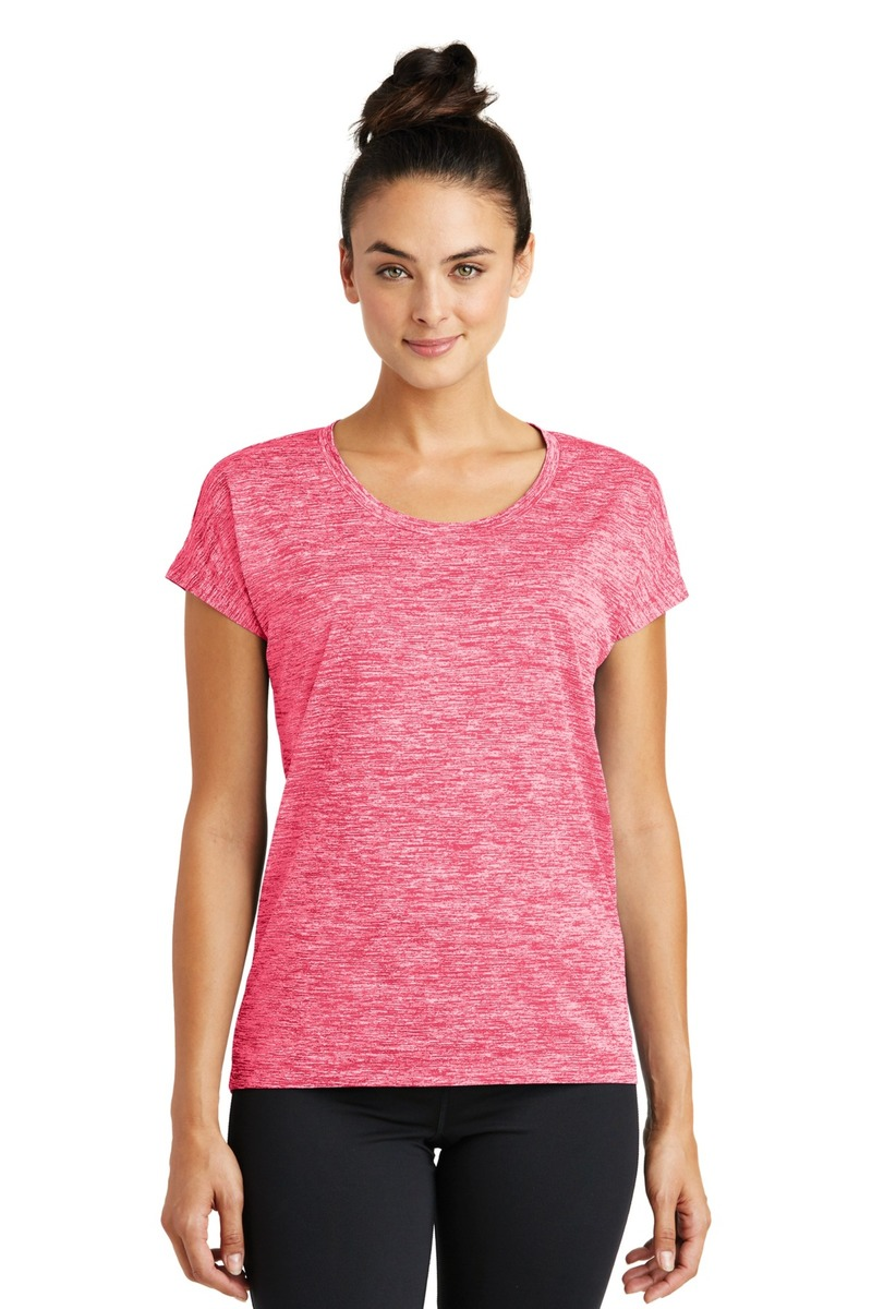 Pinted Sport-Tek Ladies PosiCharge Electric Heather Tee