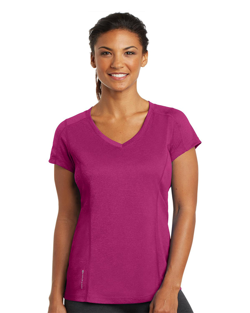 OGIO ENDURANCE Embroidered Women's Pulse V-Neck