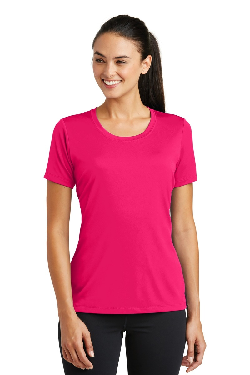Printed Sport-Tek Ladies PosiCharge Tough Tee