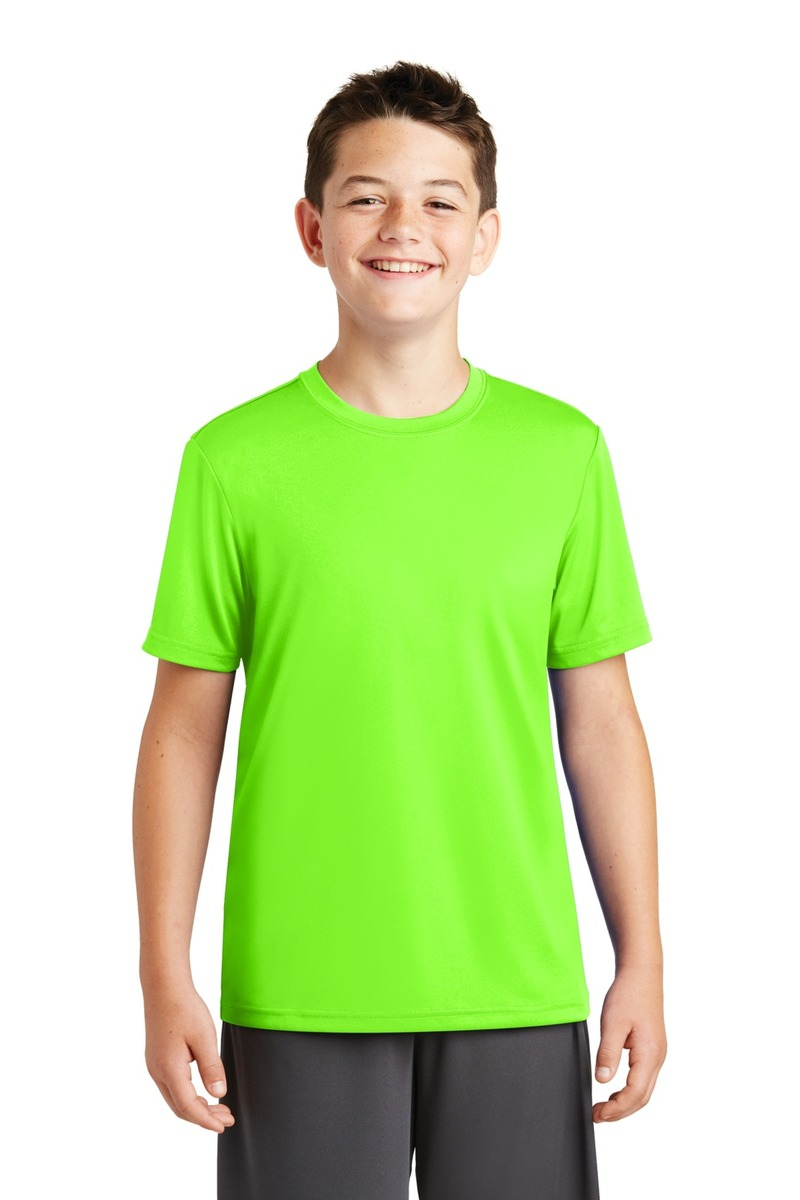 Printed Sport-Tek Youth PosiCharge Tough Tee