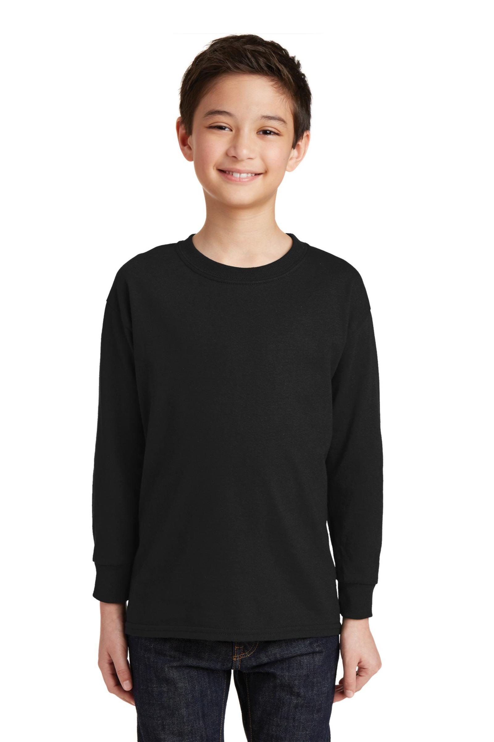 Gildan Youth 100%  Heavy Cotton Long Sleeve T-Shirt
