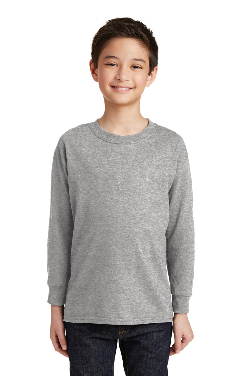 Gildan Youth 100%  Heavy Cotton Long Sleeve T-Shirt