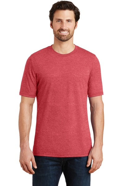District Made - Printed Mens Perfect TriBlend Crew Tee