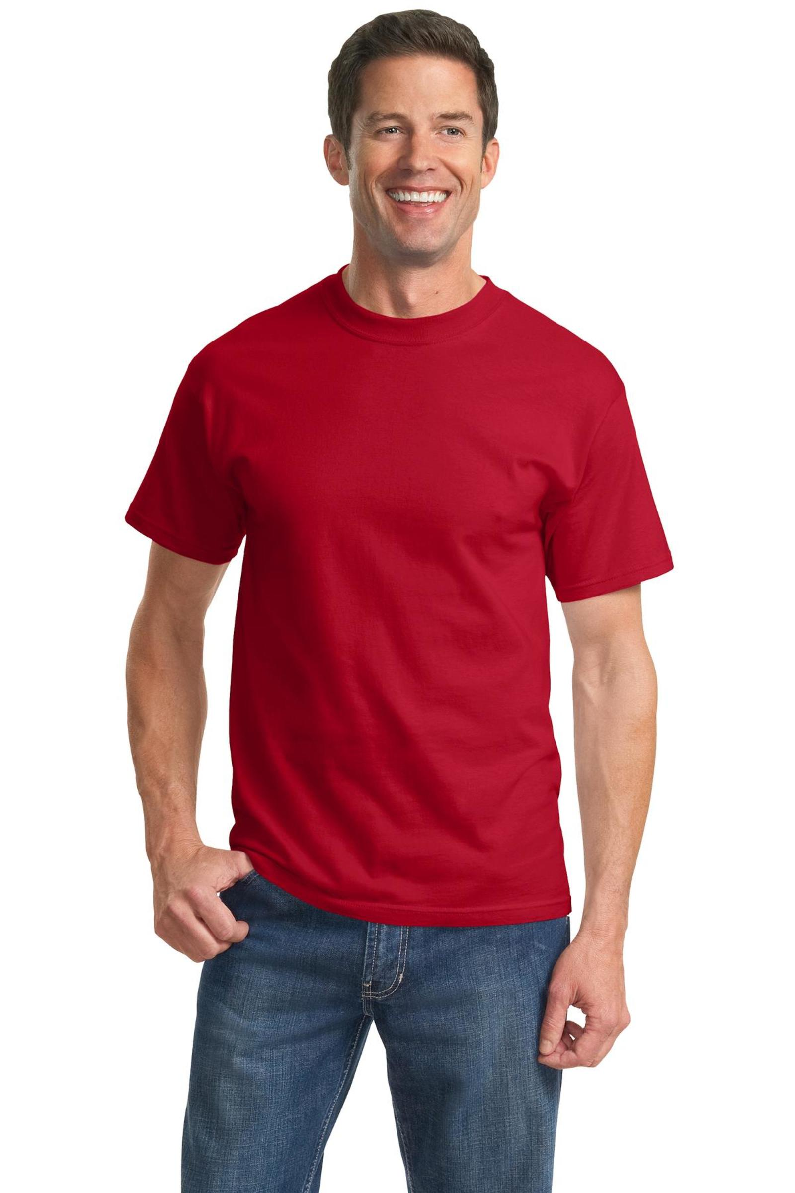 Port & Company Embroidered Men's Tall Essential Tee
