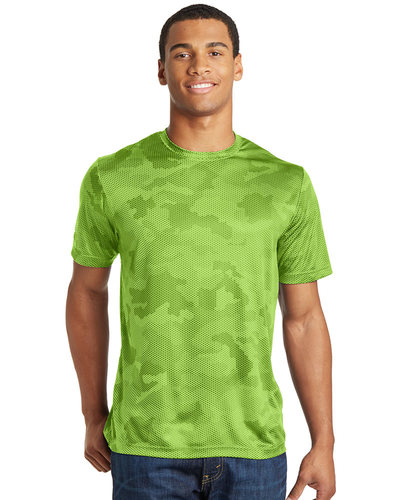 Sport-Tek Printed Men's CamoHex Tee