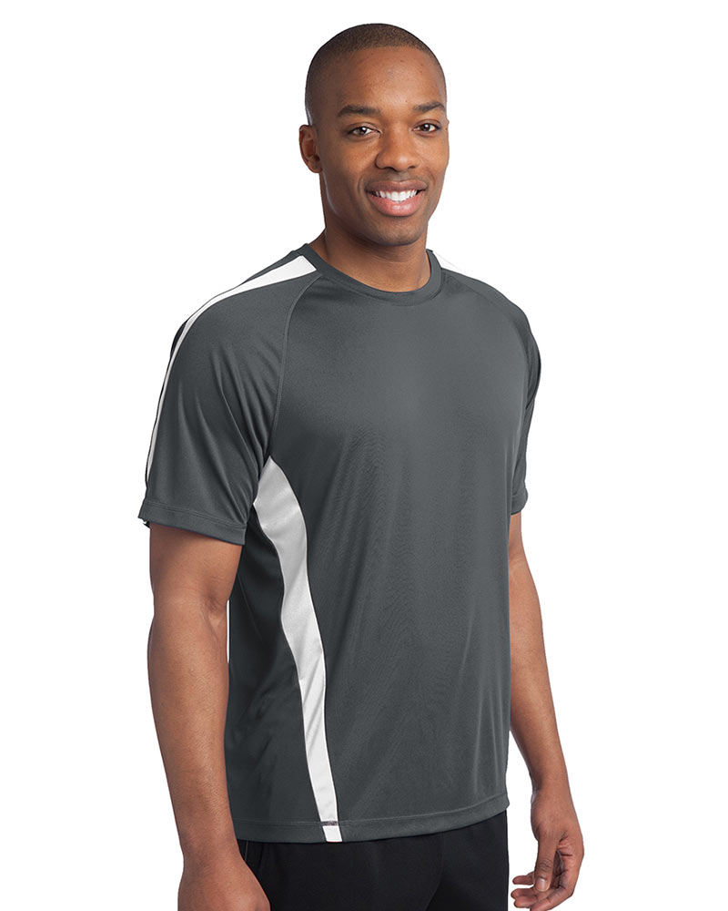 Sport-Tek Embroidered Men's Colorblock Competitor Tee