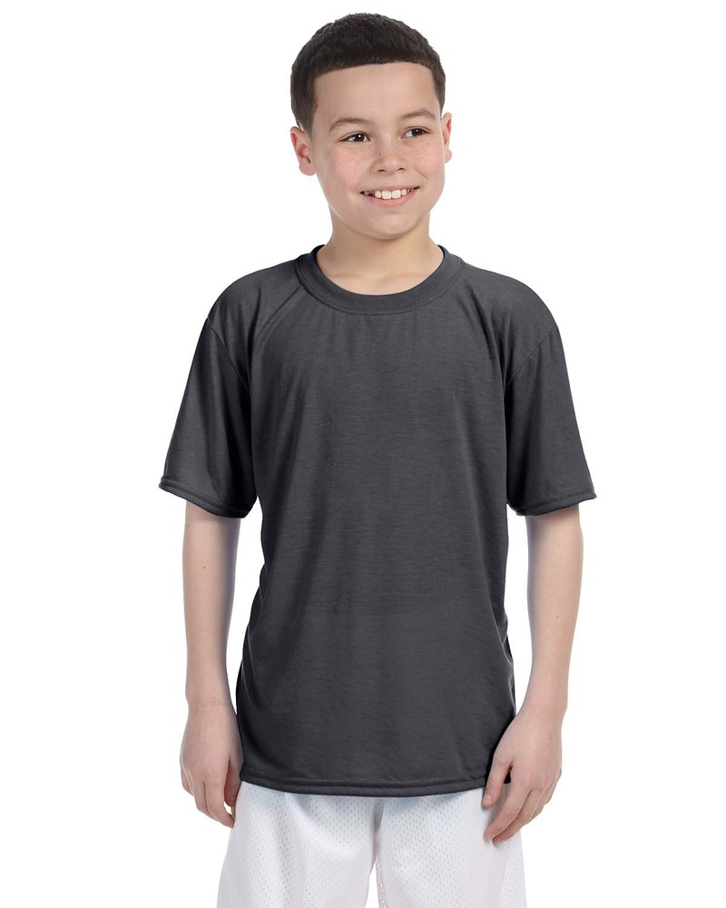 Printed Gildan Youth Performance 5 oz. T-Shirt