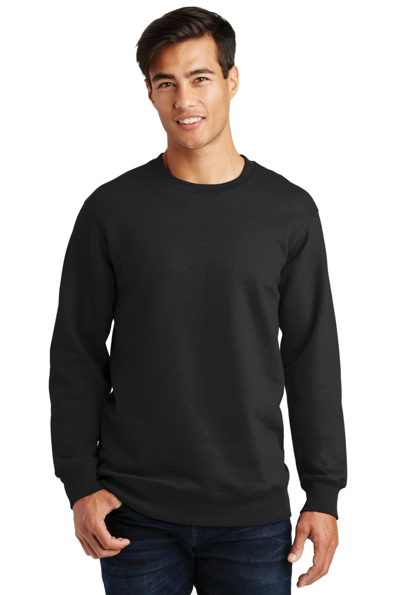 Port & Co. - Printed Fan Favorite Fleece Crewneck Sweatshirt