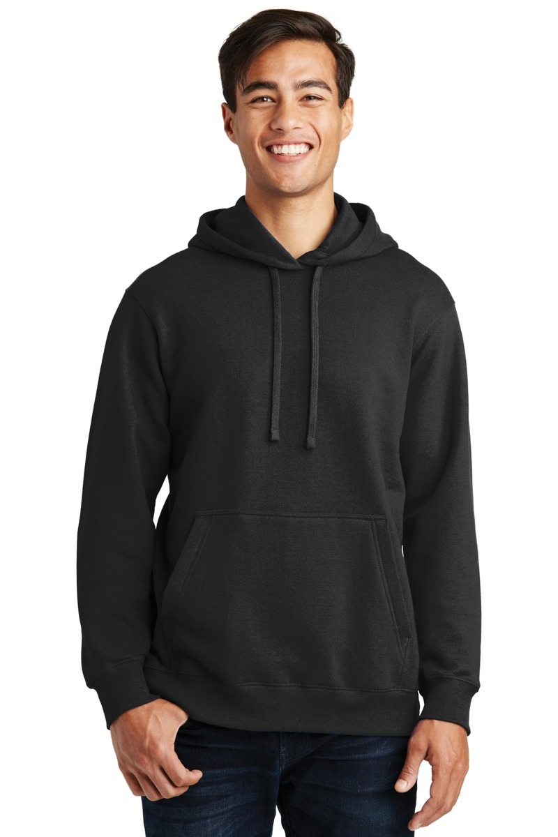 Port & Company Embroidered Men's Pullover Hooded Sweatshirt