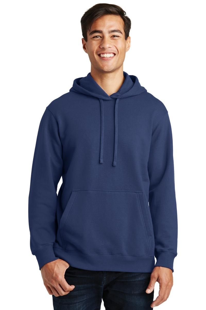 Port & Co. -  Printed Fleece Pullover Hooded Sweatshirt