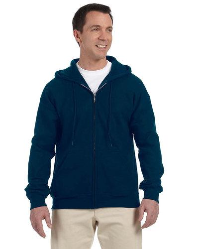 Printed Gildan Full Zip Hooded Sweatshirt