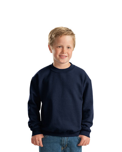 Printed Gildan Youth Crewneck Sweatshirt